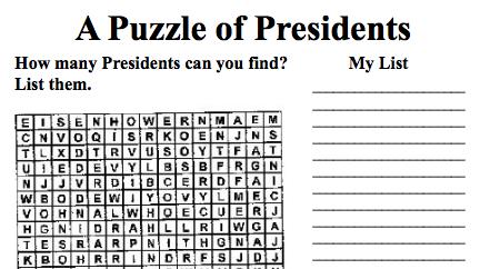 PresidentPuzzle